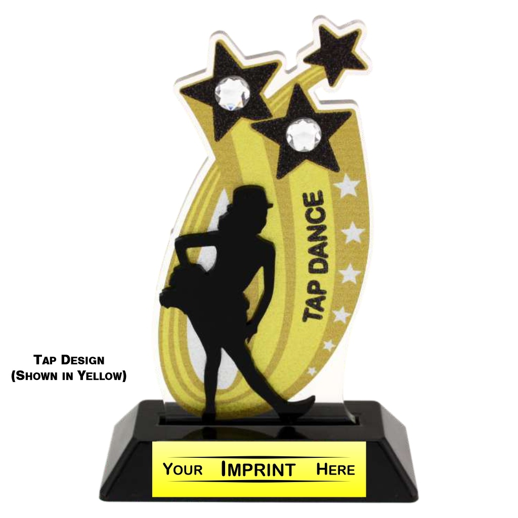 Dance GEM Series Stock Acrylic Trophy