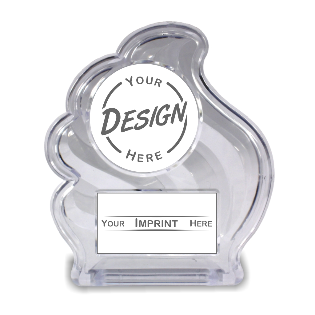 Acrylic Insert Participation Trophy