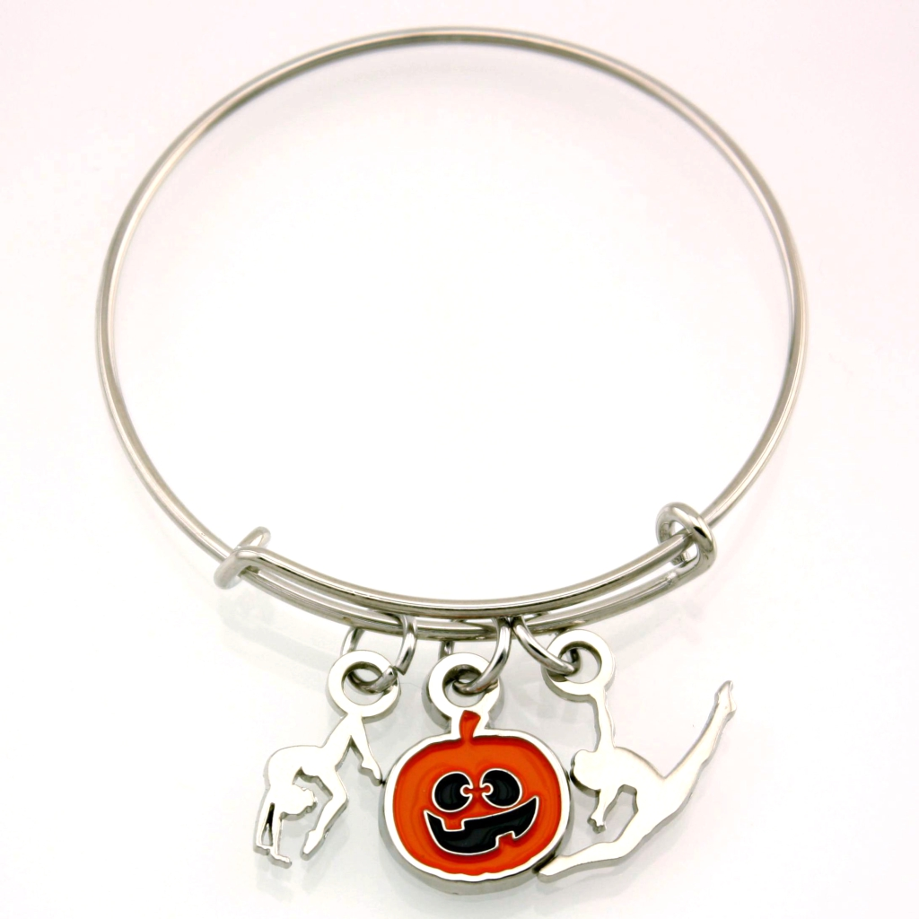 Pumpkin Stackable Charm Bracelet [CH-107]