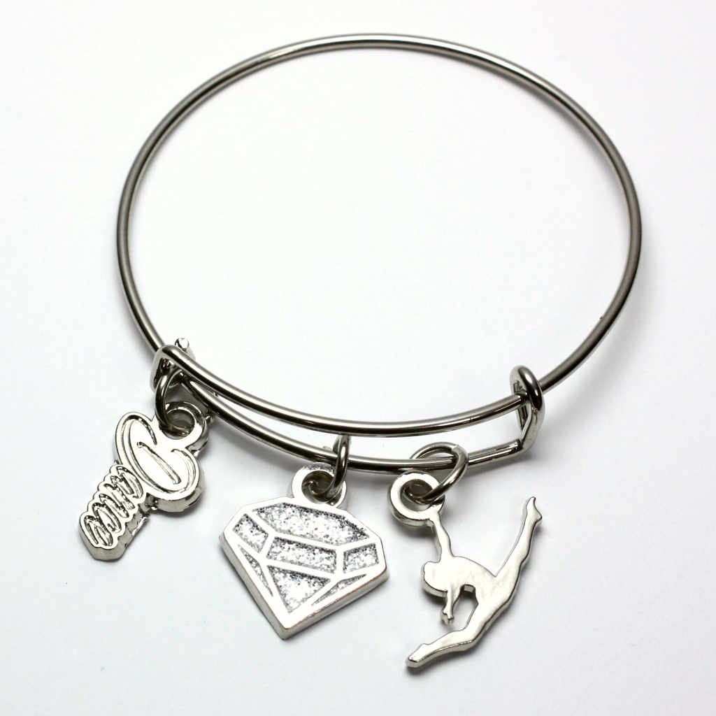 Dance Stackable Charm Bracelet [CH-112]
